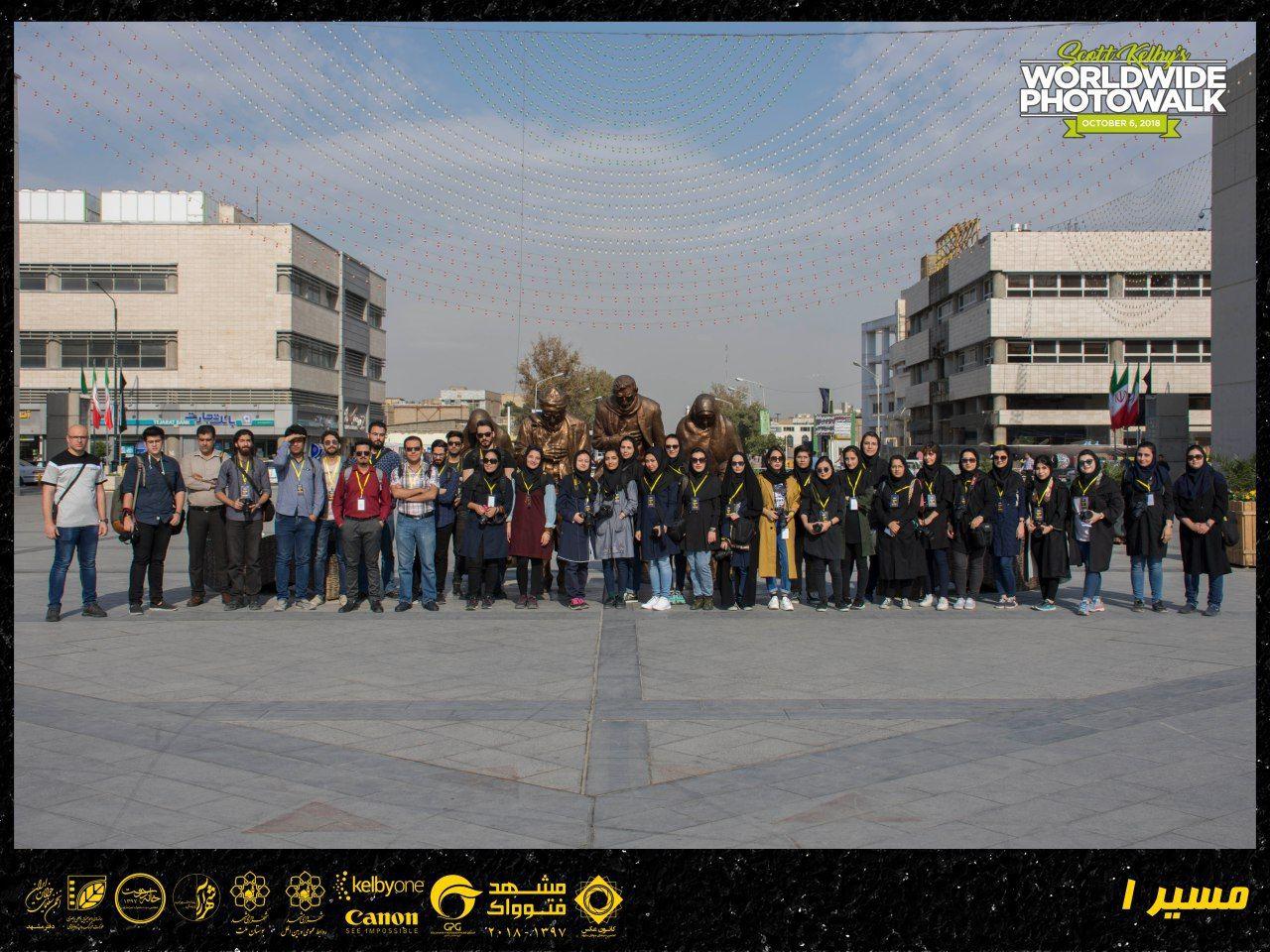 برگزاری گشت عکاسی «فتوواک» در مشهد