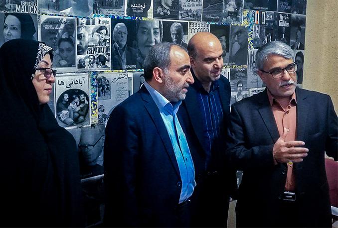 بازدید معاون توسعه مدیریت و منابع سازمان سینمایی کشور از انجمن سینمای جوانان استان بوشهر