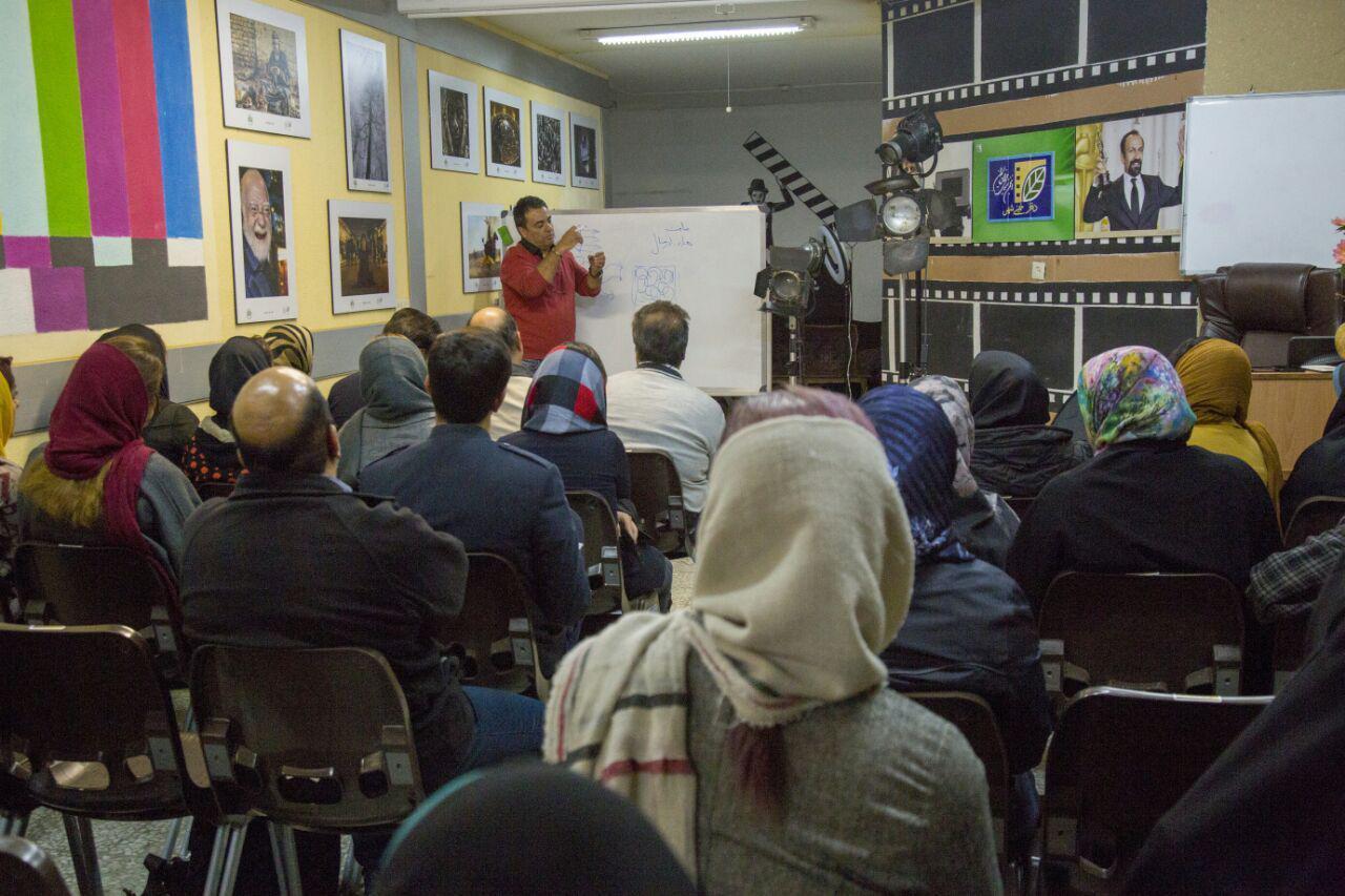 برگزاری کارگاه عکاسی پرتره در خمینیشهر
