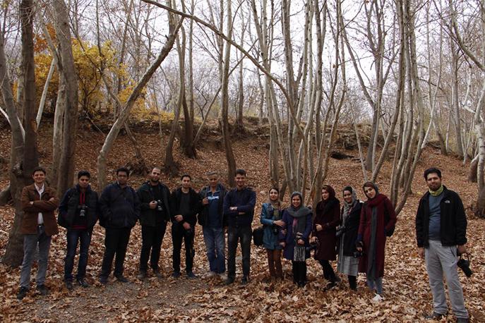 اردوی عکاسی در شهرکرد