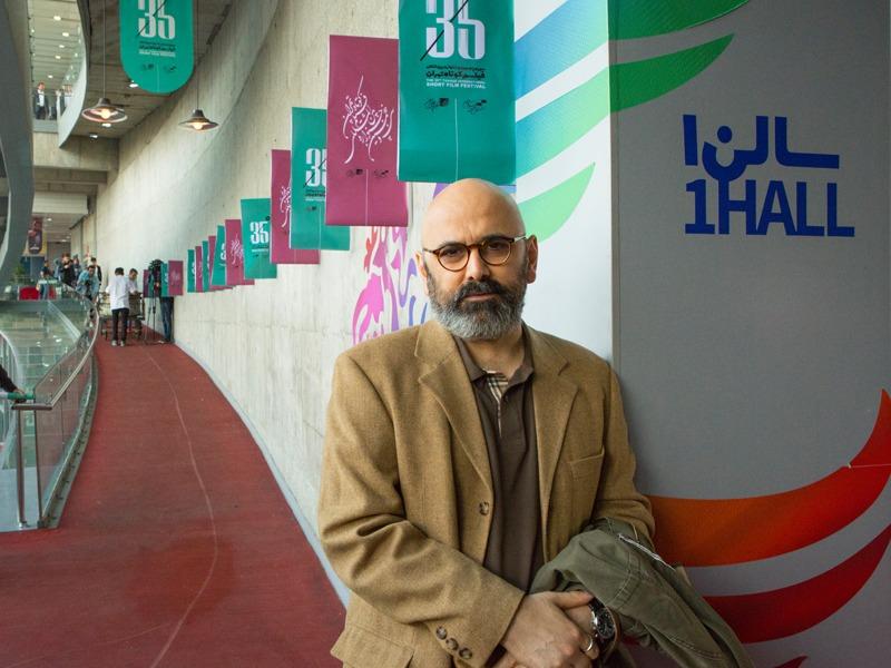 حضور حبیب رضایی در روز اول جشنواره فیلم کوتاه تهران