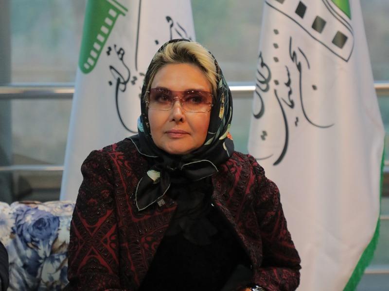 حضور کتایون ریاحی در  روز اول جشنواره فیلم کوتاه تهران