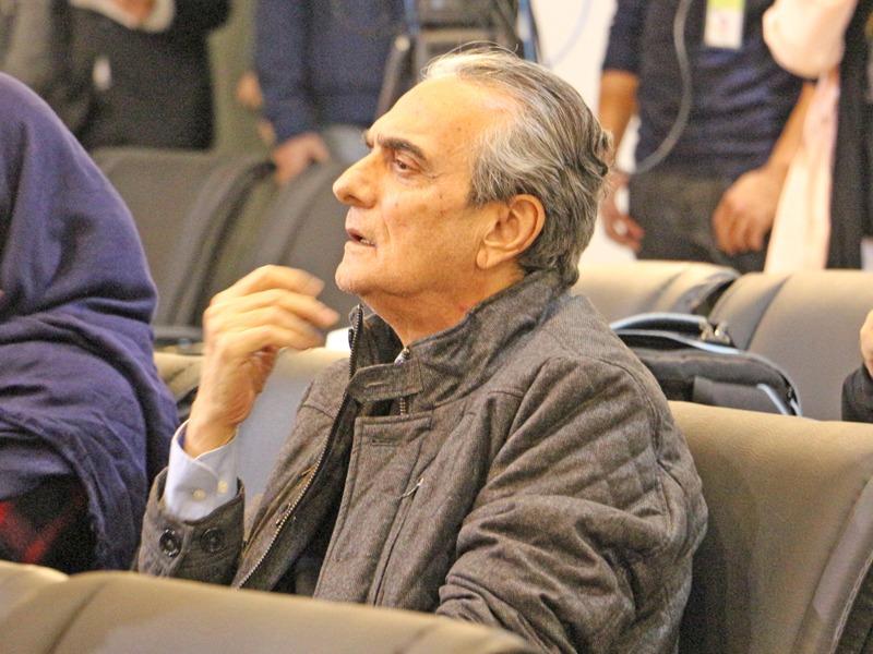 حضور همایون ارشادی در روز دوم جشنواره فیلم کوتاه تهران