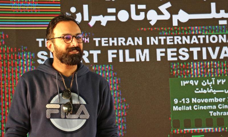 حضور کاوه خدا شناس در روز اول جشنواره فیلم کوتاه تهران