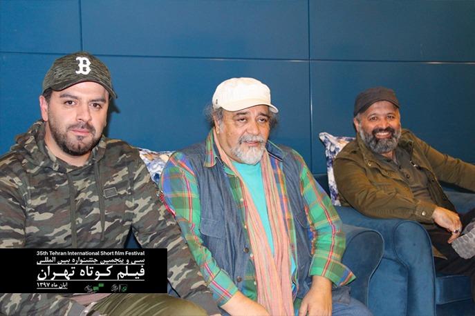 حضور جمعی از هنرمندان در سومین روز جشنواره فیلم کوتاه تهران