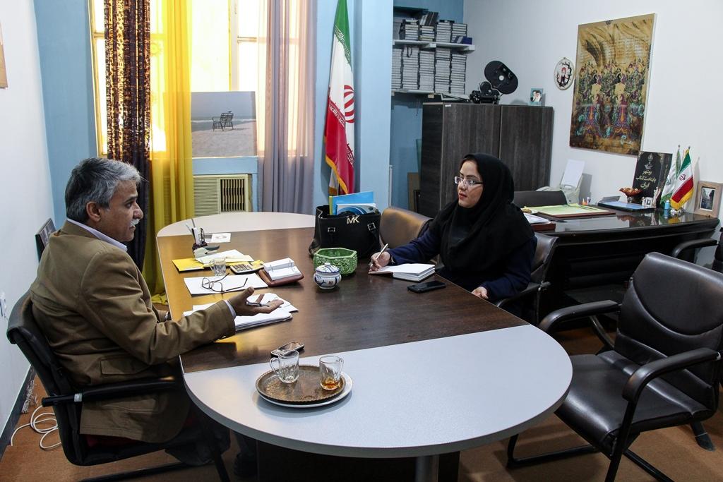 دیدار رئیس کمیسیون فرهنگی شورای شهر از انجمن سینمای جوانان استان بوشهر