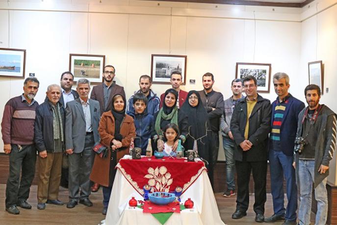 افتتاح نمایشگاه «نگاه من در قاب » در لاهیجان