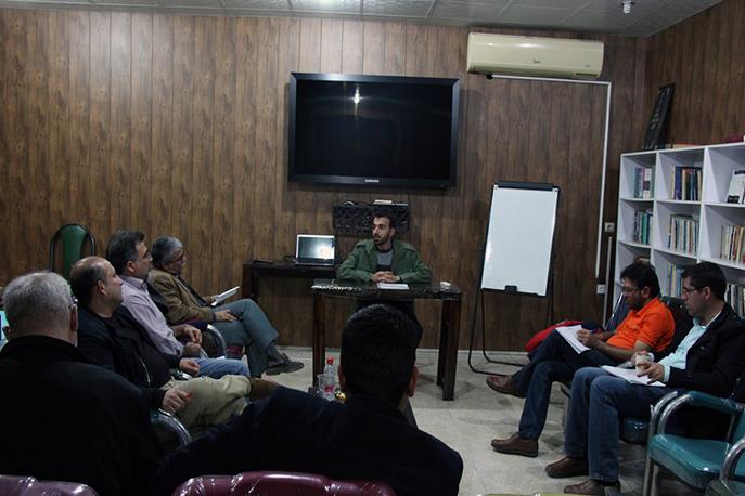 جلسه مقدماتی پیچینگ در شانزدهمین هفته فیلم و عکس بوشهر