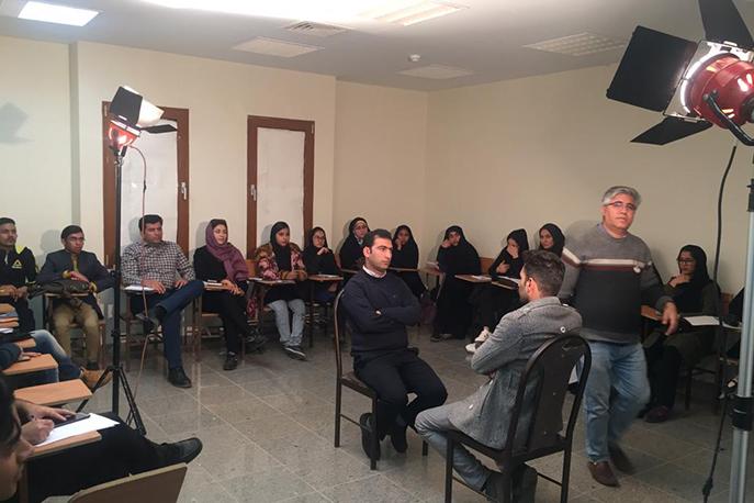 برگزاری کارگاه نورپردازی در عکس و فیلم در بم