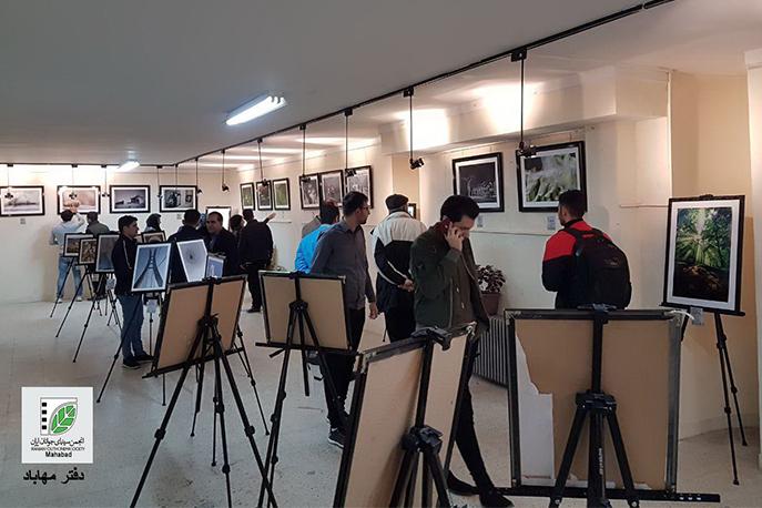 برپایی نمایشگاه عکس در پیرانشهر