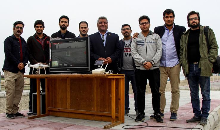 آموزش تصویربرداری با پهباد در بوشهر