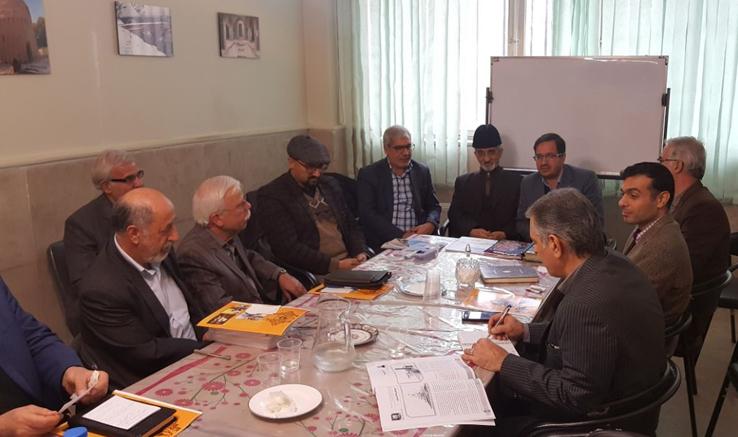 نشست دفتر کرج با جمعیت همیار کرج و موسسه البرزشناسی