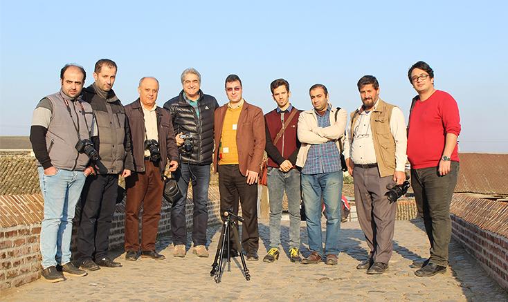 عکاسی گروهی در لنگرود