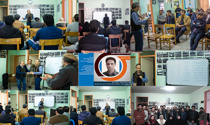 برگزاری کارگاه فیلمنامه نویسی در نیشابور