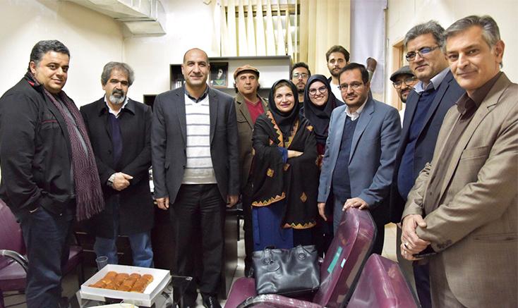 افتتاح رسمی محل جدید انجمن سینمای جوانان استان البرز