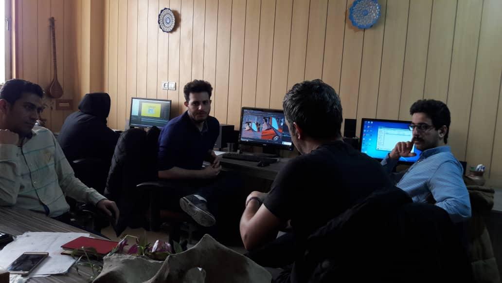 گفتوگوی اشکان چاوشی با گروه انیمیشن «ساحا» 
