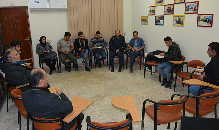 اولین جلسه « نشستهای تخصصی سینما» در دزفول