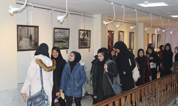 برپایی نمایشگاه گروهی عکس در مراغه