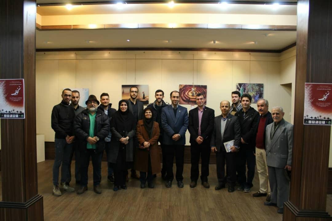 افتتاح نمایشگاه عکس عاشورایی (نی نوا) در لاهیجان
