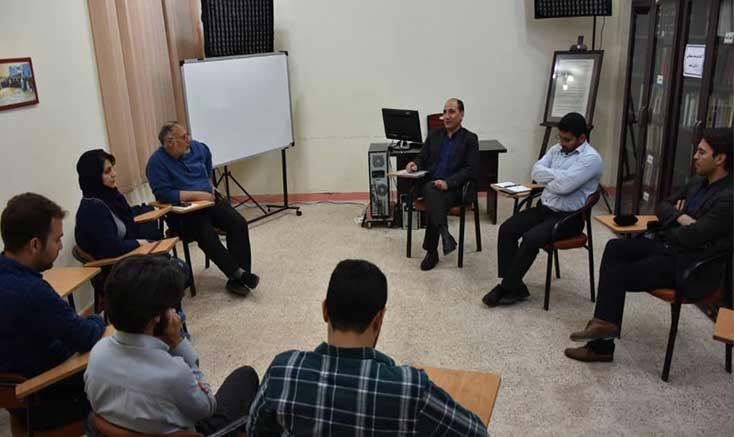 نشست هم اندیشی مسئولین انجمن سینمای جوانان دزفول با اعضای این دفتر