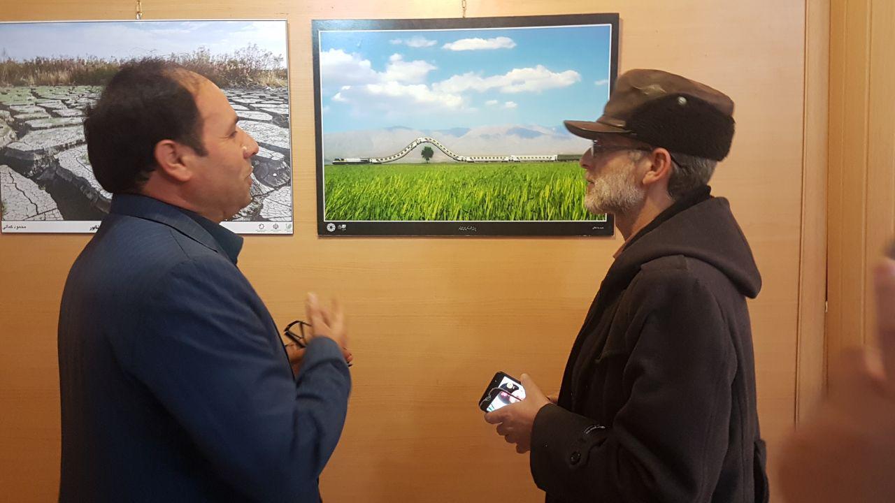 نمایشگاه عکس بهارانه در نیشابور