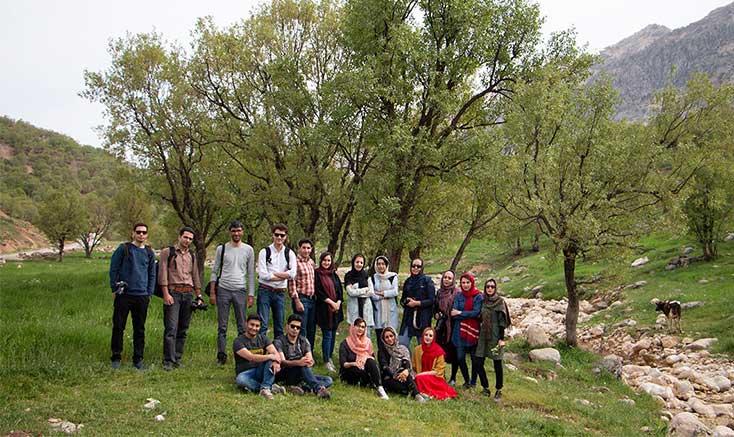 اردوی عکاسان شهرکردی در بازفت