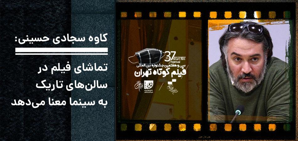 کاوه سجادی حسینی: تماشای فیلم در سالنهای تاریک به سینما معنا میدهد/نباید روح خلق کردن را از دست بدهیم