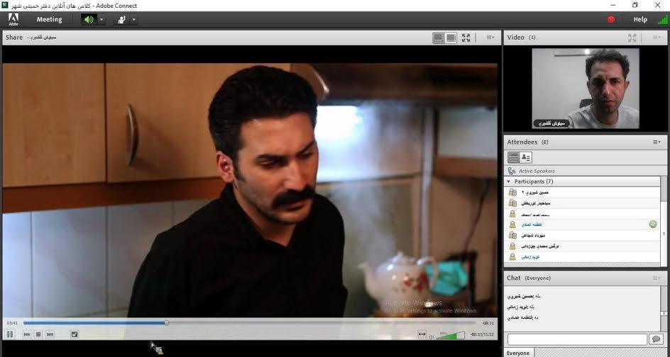 برگزای کلاس تکدرس فیلمنامهنویسی در خمینیشهر به صورت آنلاین