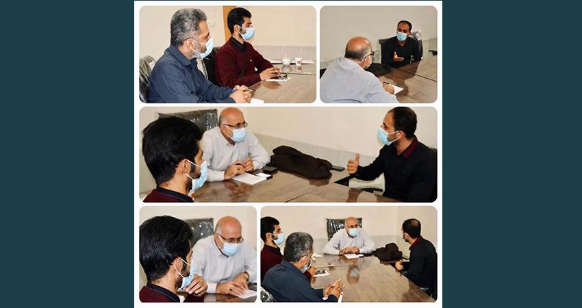 نشست نماینده مردم تنگستان و دشتی در مجلس شورای اسلامی با اعضای انجمن سینمای جوان تنگستان