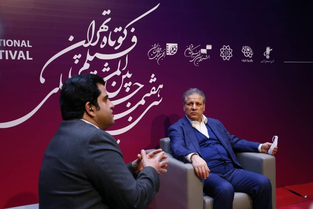 علی انصاری: ایران مال ظرفیتی است که برای جامعه سینمایی و هنری است