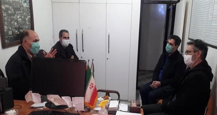 بازدید دبیر شورای هماهنگی مبارزه با مواد مخدر استان اردبیل از انجمن سینمای جوانان استان