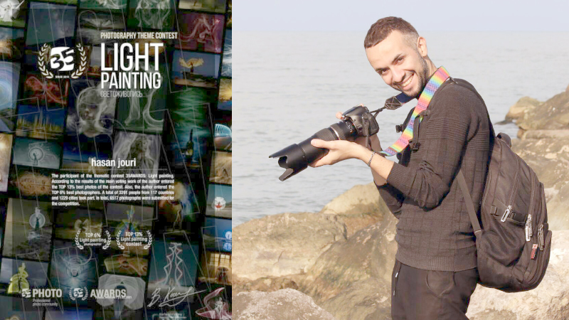موفقیت عکاس لاهیجانی در جشنواره مسابقات جهانی عکاسی روسیه